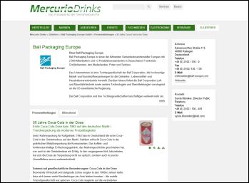 Mercurio Drinks