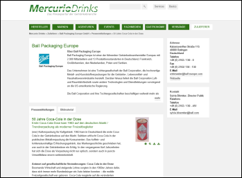 Mercurio Drinks