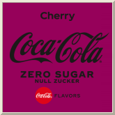 Coca-Cola cherry ohne Zucker