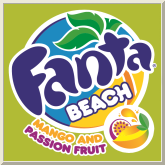 Fanta Beach Mango and Passion Fruit